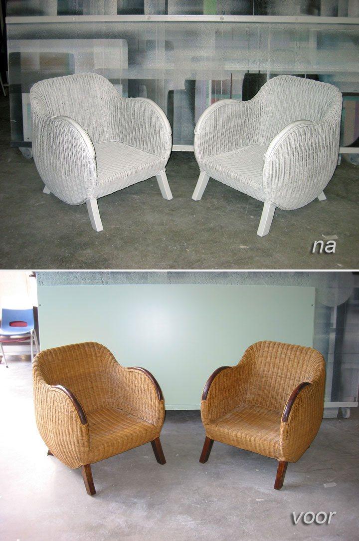 stoelen spuiten