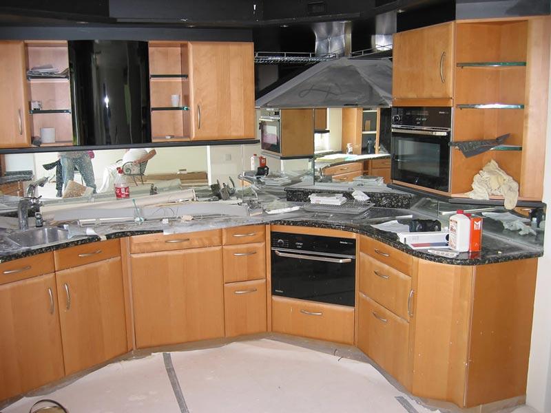 Bruynzeel keuken vóór het spuiten