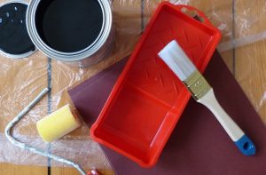 doe het zelf schilderpakket voor het pimpen van de vaste delen van uw keuken
