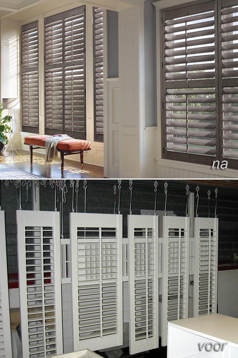 Overig spuitwerk zoals raam shutters spuiten