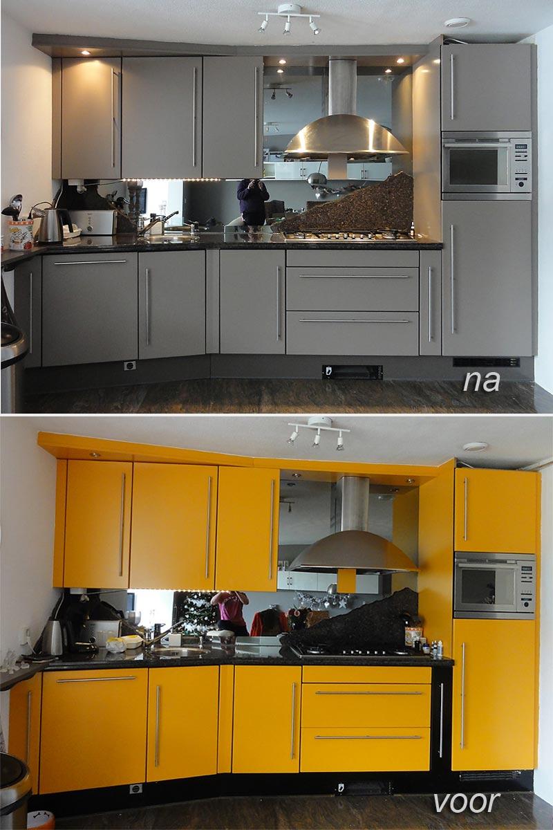 bruynzeel keuken spuiten