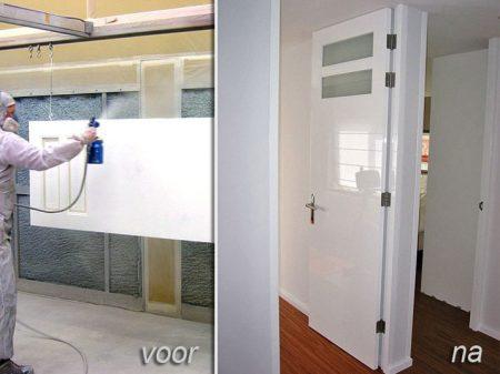 Meubelspuiterij eurobord rotterdam spuiten van meubels for Holland deuren service