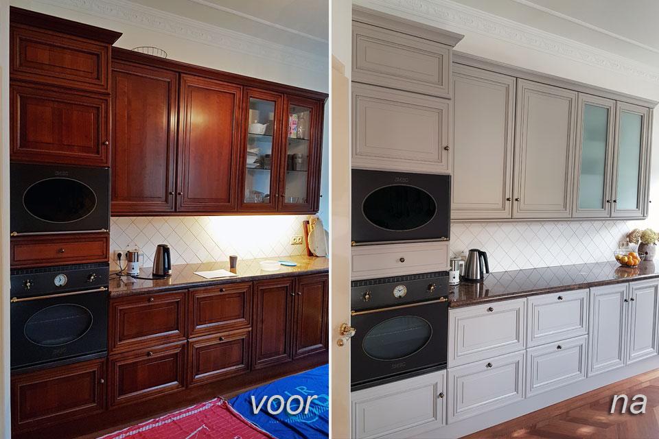keukendeurtjes laten schilderen